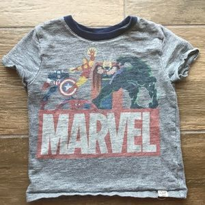 Gap Marvel Heathered Gray Top in 18-24 Months